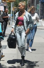 HAILEY BALDWIN Out for Lunch in New York 06/20/2017