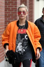 HAILEY BALDWIN Out in New York 06/04/2017