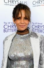 HALLE BERRY at 16th Annual Chrysalis Butterfly Ball in Los Angeles 06/03/2017
