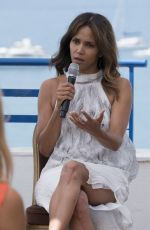 HALLE BERRY Speaks to an Audience at Grand Hyatt Martinez Hotel in Cannes 06/21/2017
