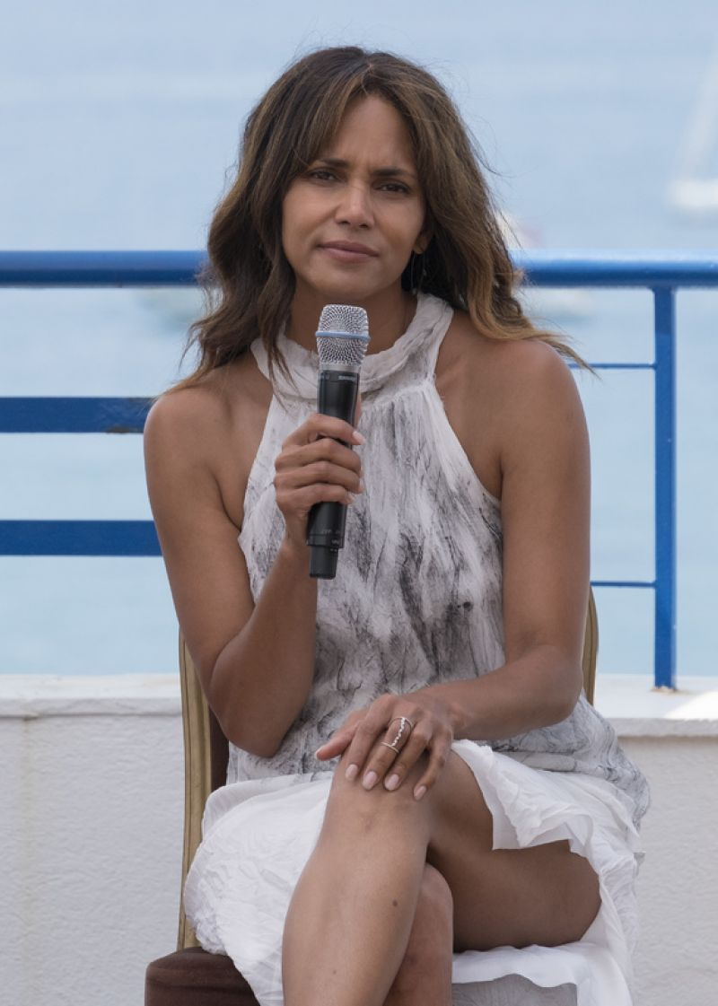 Halle Berry Speaks To An Audience At Grand Hyatt Martinez