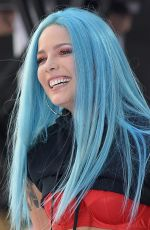 HALSEY Performs at Today Show in New York 06/09/2017