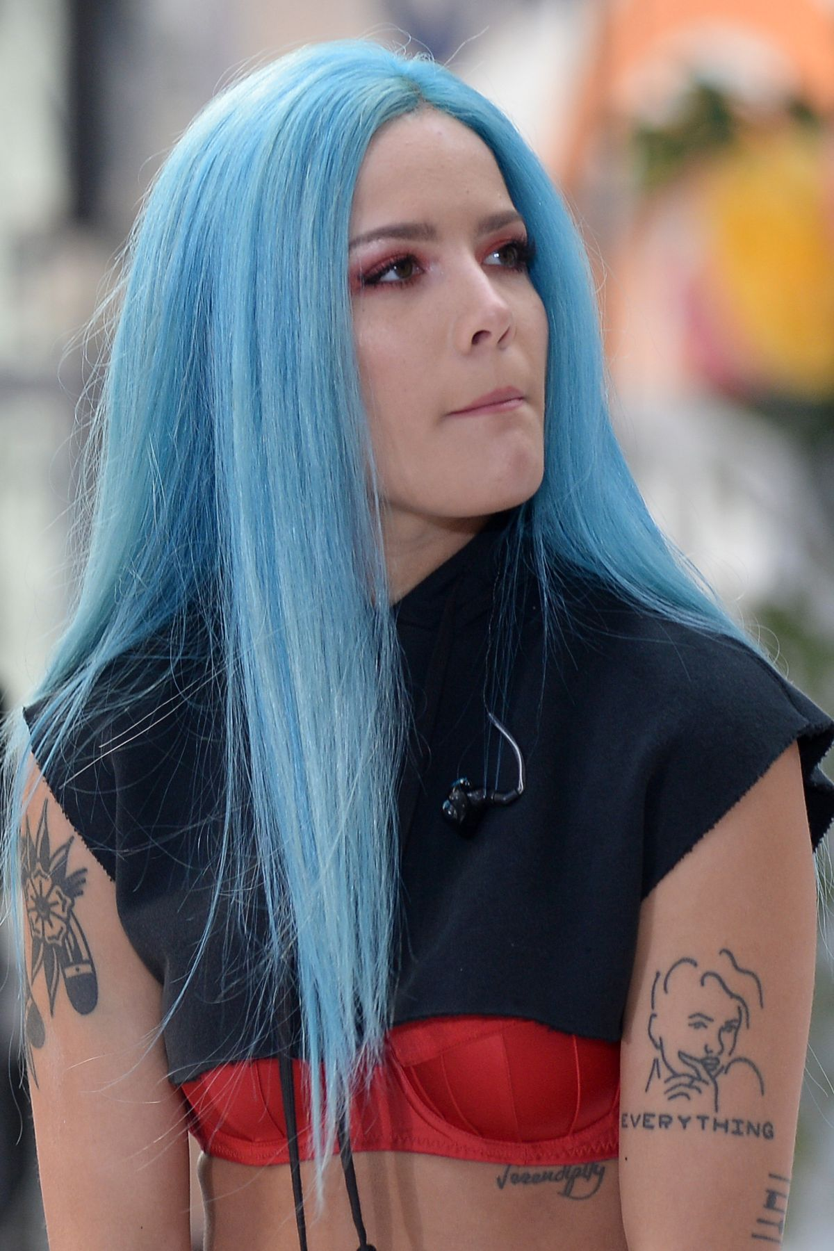 Halsey Performs At Today Show In New York 06 09 2017