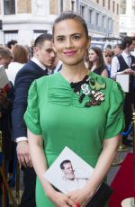 HAYLEY ATWELL at Hamlet Press Night in London 06/15/2017