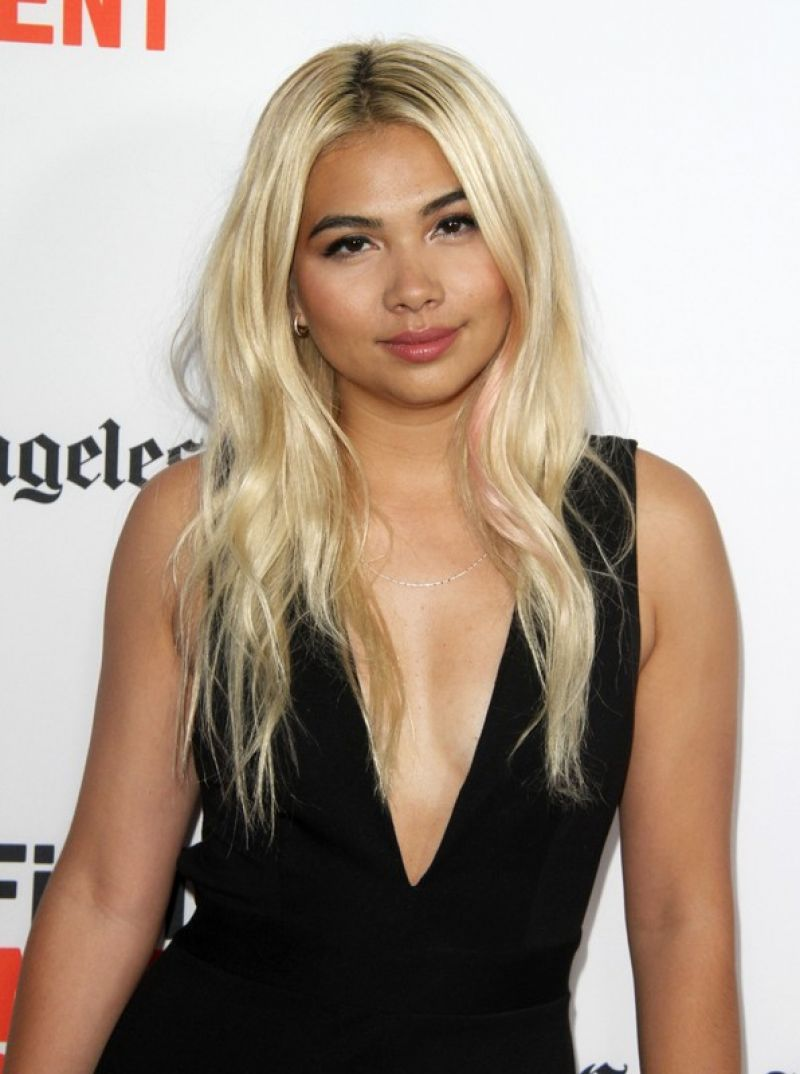 HAYLEY KIYOKO at Becks Premiere at LA Film Festival in ...