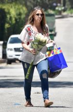 HAYLIE DUFF Out in Beverly Hills 06/17/2017