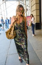 HEIDI KLUM Out and About in New York 06/27/2017
