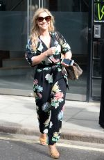 HEIDI RANGE Leaves AOL Studio in London 06/07/2017