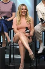 HILARY DUFF at AOL Build Speaker Series in New York 06/27/2017