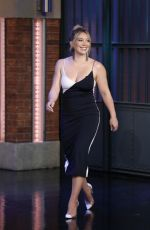 HILARY DUFF at Late Night with Seth Meyers 06/28/2017