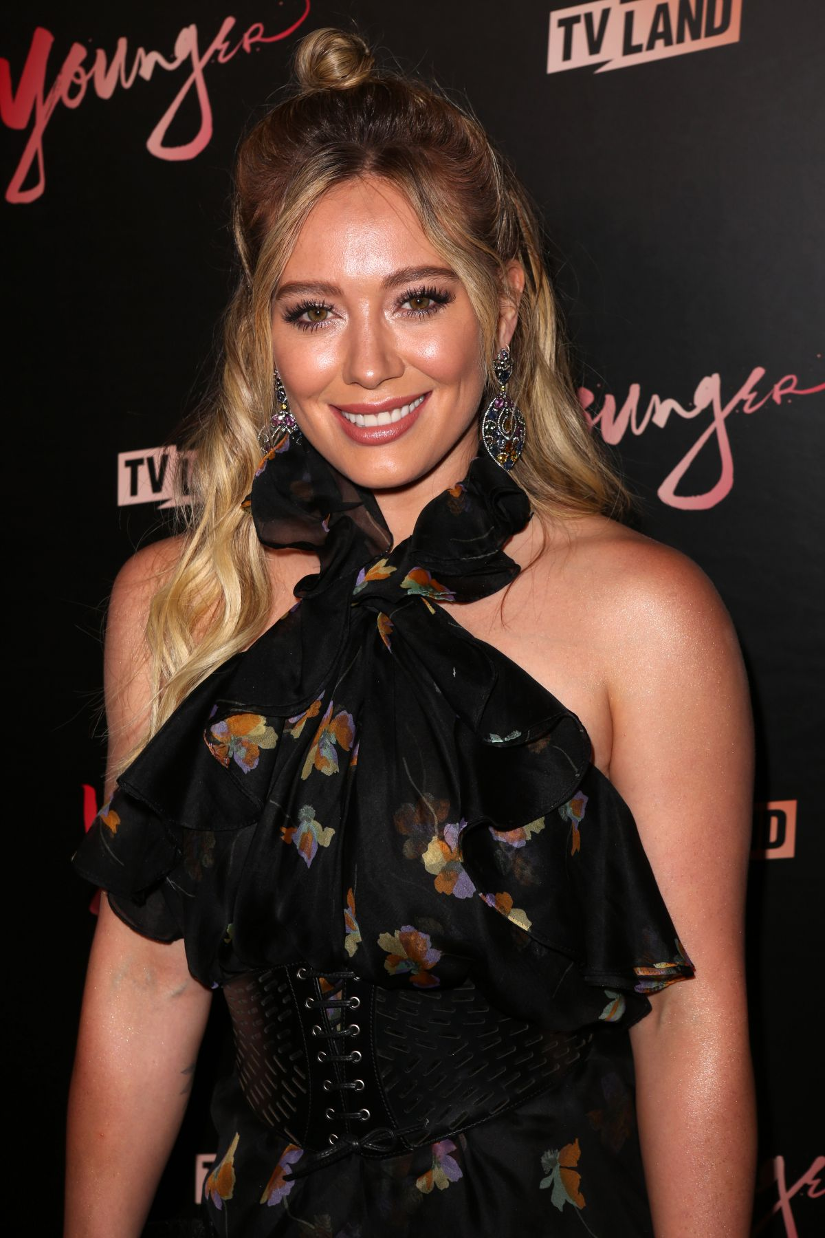 HILARY DUFF at Younger Premiere in New York 06/27/2017