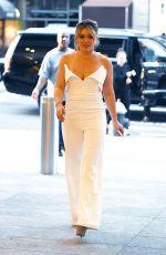 HILARY DUFF Leaves NBC Rockefeller Studios in New York 06/28/2017