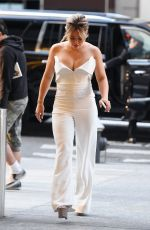 HILARY DUFF Leaves NBC Studios in New York 06/28/2017