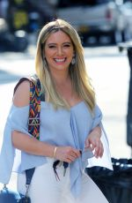 HILARY DUFF on the Set of Younger in Brooklyn 06/26/2017