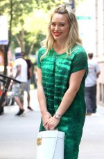 HILARY DUFF on the Set of Younger in New York 06/12/2017