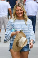 HILARY DUFF on the Set of Younger in New York 06/13/2017