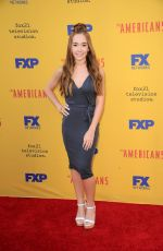 HOLLY TAYLOR at The Americans FYC Event in Los Angeles 06/01/2017
