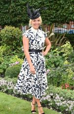 HOLLY WILLOUGHBY at Ascot Racecourse in Berkshire 06/23/2017