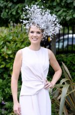 CHARLOTTE HAWKINS at Ascot Racecourse in Berkshire 06/23/2017