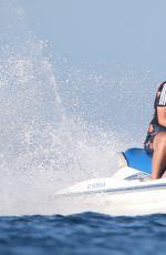IGGY AZALEA in Bikini at a Boat in Los Cabos 06/05/2017