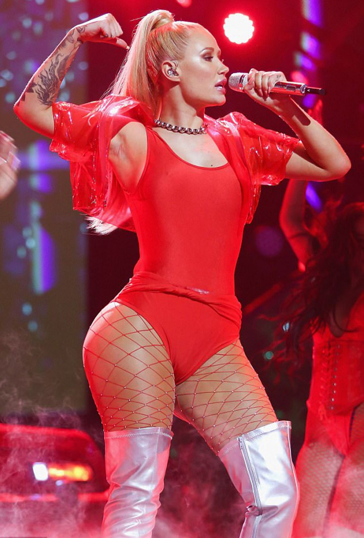 IGGY AZALEA Performs at MTV MIAW Awards in Mexico 06/04/2017