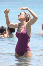 ILARY BLASI in Swimsuit at a Beach in Mykonos 06/21/2017