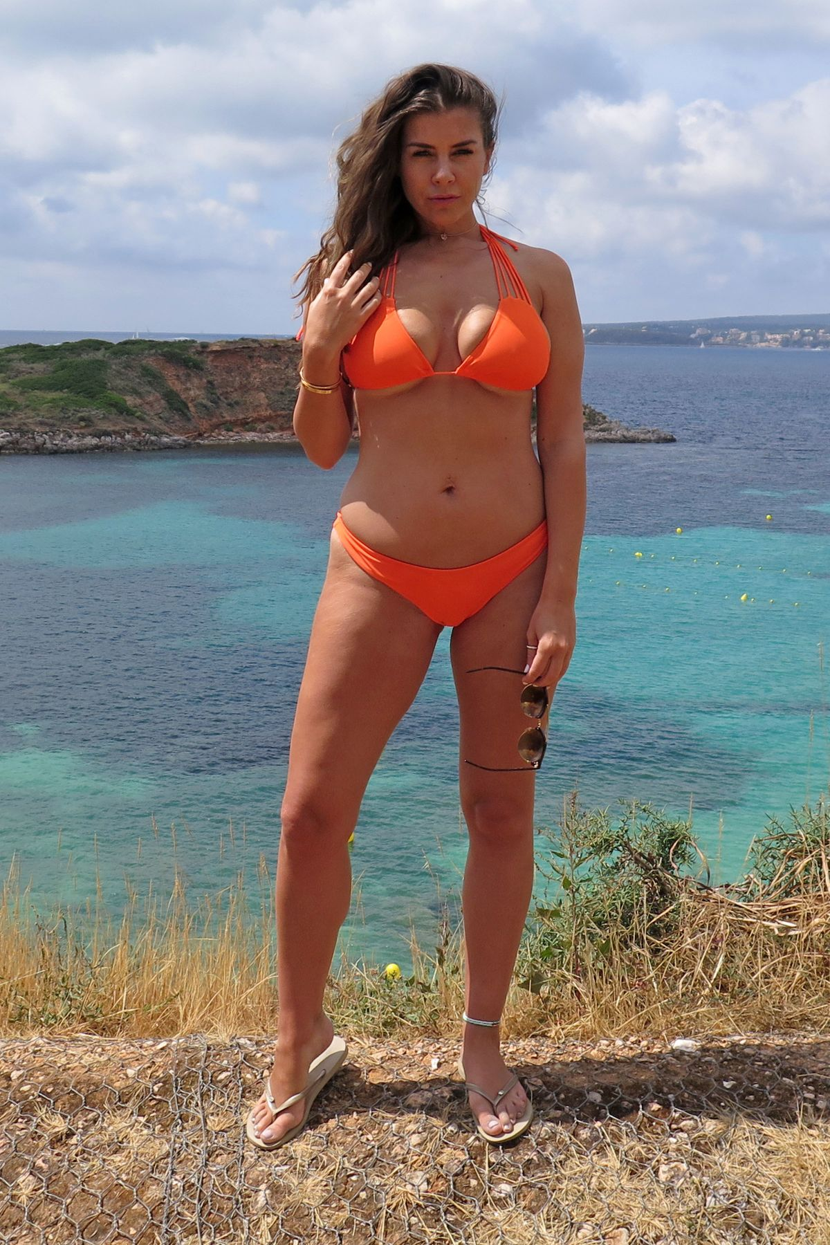 Shania twain in a bikini