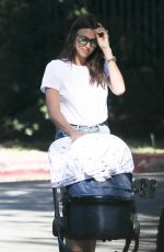 IRINA SHAYK Out with Her Baby in Los Angeles 06/12/2017