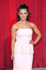 ISABEL HODGINS at British Soap Awards in Manchester 06/03/2017
