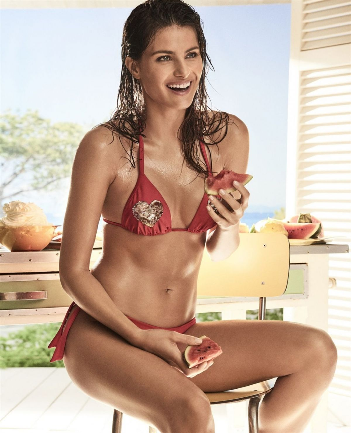 ISABELI FONTANA for Twinset Coup De Coeur Collection 2017