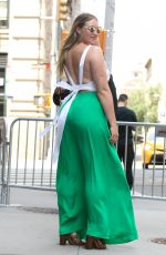 ISKRA LAWRENCE Out and About in New York 06/15/2017