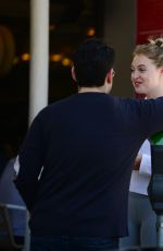 ISKRA LAWRENCE Out at a Brunch in Beverly Hills 06/25/2017