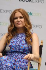 ISLA FISHER at Book Expo at Javitz Center in New York 06/01/2017