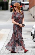 ISLA FISHER Leaves a Hair Salon in Studio City 06/08/2017