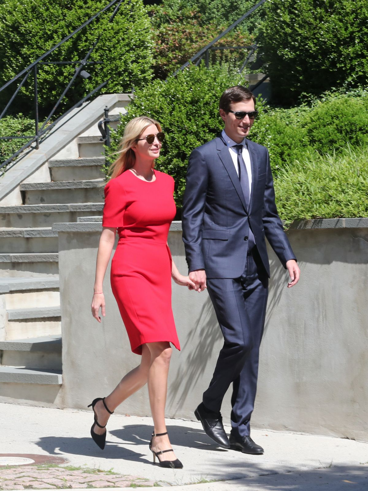IVANKA TRUMP and Jared Kushner Heading to Synagogue to Celebrate Shavuot in Washington 06/01/2017