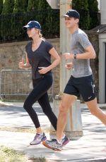 IVANKA TRUMP and Jared Kushner Out Jogging in Washington 06/25/2017