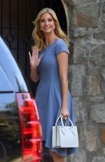 IVANKA TRUMP Steps Out for Work in Washington D.C. 06/27/2017