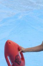 IVONNE REYES in Swimsuit at Warner Park in Madrid 06/23/2017