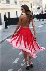 IZABEL GOULART at Valentino Fashion Show in Paris, 06/21/2017
