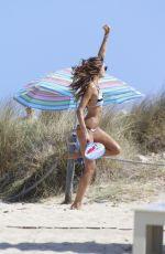 IZABEL GOULART in Bikini on the Beach in Ibiza 06/02/2017\