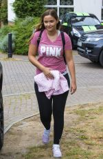 JACQUELINE JOSSA Leaves Her Home in London 06/27/2017