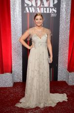 JACQUELINE JOSSA at British Soap Awards in Manchester 06/03/2017