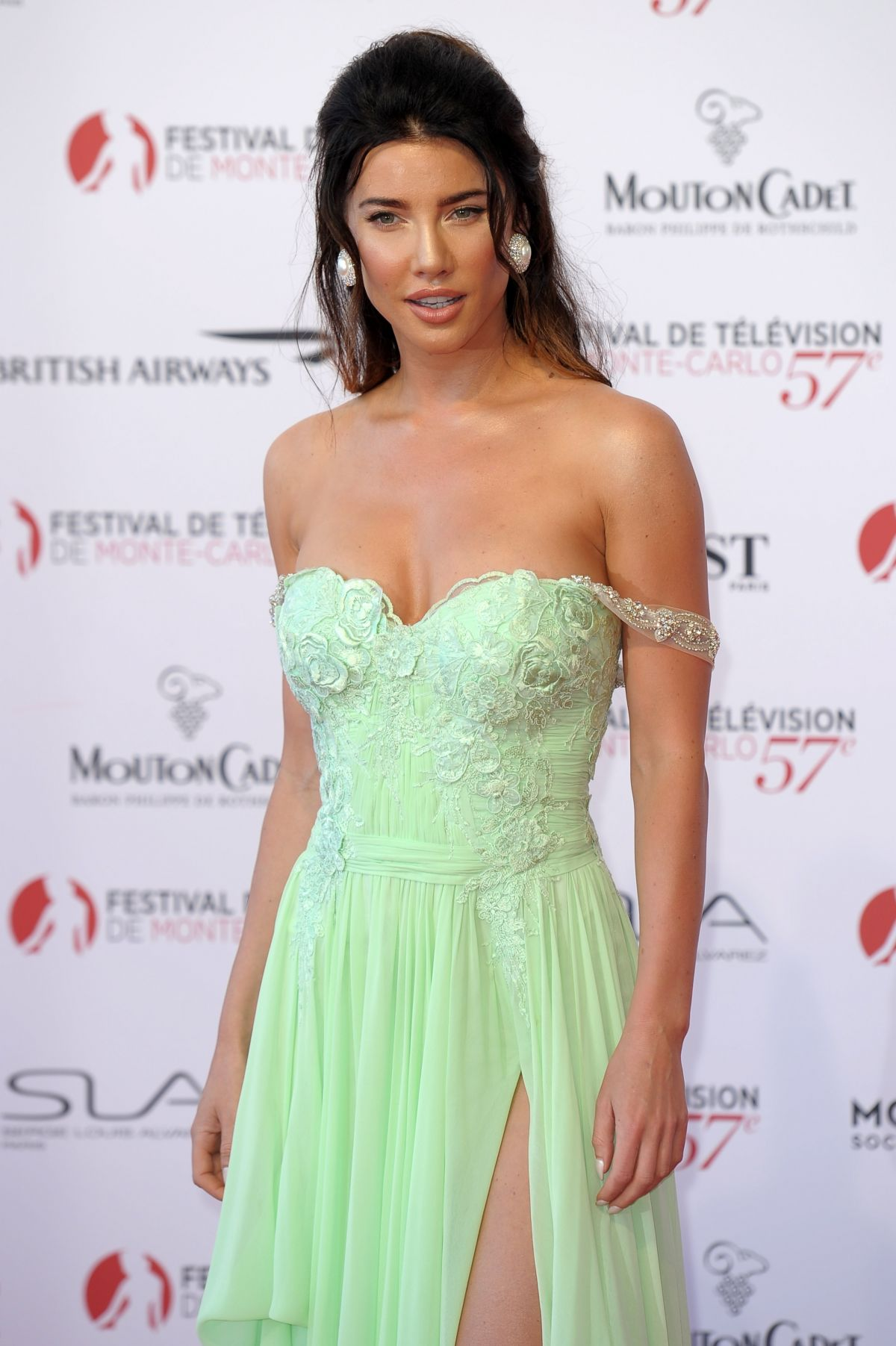 JACQUELINE MCINNES WOOD at 57th Monte-Carlo Television Festival Opening 06/16/2017