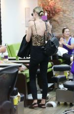 JAIME KING at a Nail Salon in Beverly Hills 06/19/2017