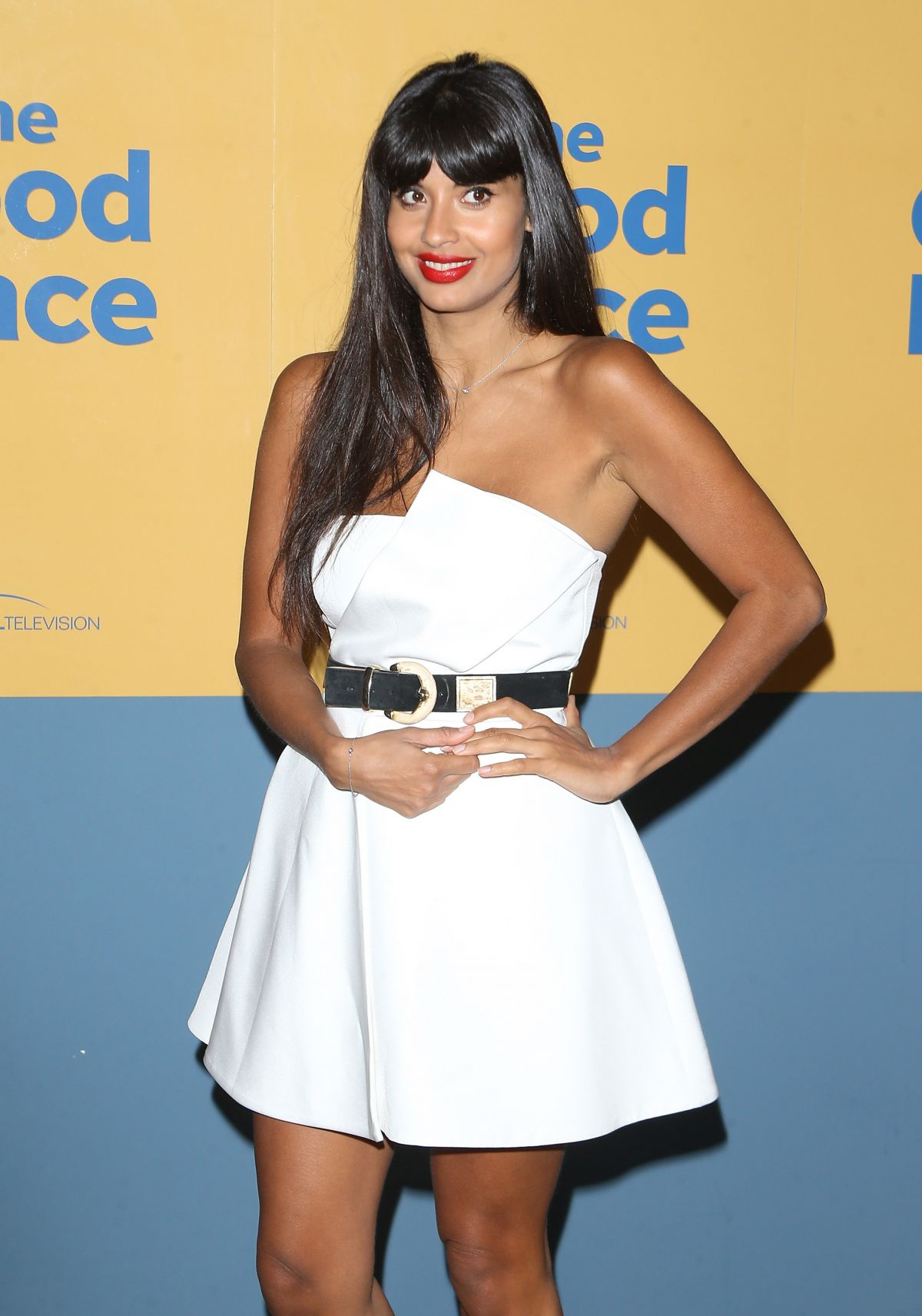 JAMEELA JAMIL at The Good Place FYC Event in Los Angeles 06/12/2017