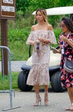 JAMIE CHUNG Arrives at Liberty State Park in Jersey City 06/03/2017