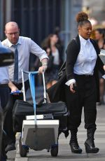 JANET JACKSON Leaves Royal Courts of Justice in London 06/15/2017