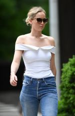 JENNIFER LAWRENCE In Jeans Out in Central Park in New York 06/15/2017