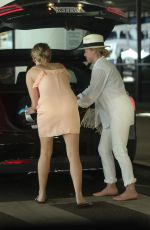 JENNIFER LAWRENCE Picking up a Friend at LAX Airport 06/26/2017