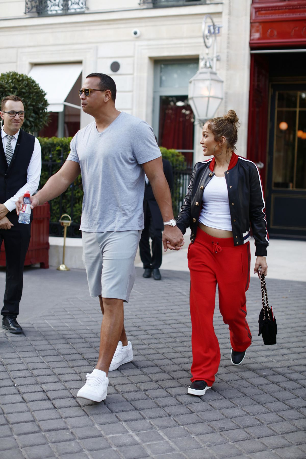 JENNIFER LOPEZ and Alex Rodriguez Out and About in Paris 06/18/2017